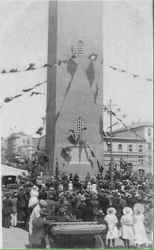 Campanile getting christened with a Royal Audience, H R H Prince Arthur of Connaught