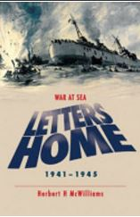 Cover of book 'Letters Home - War at Sea'