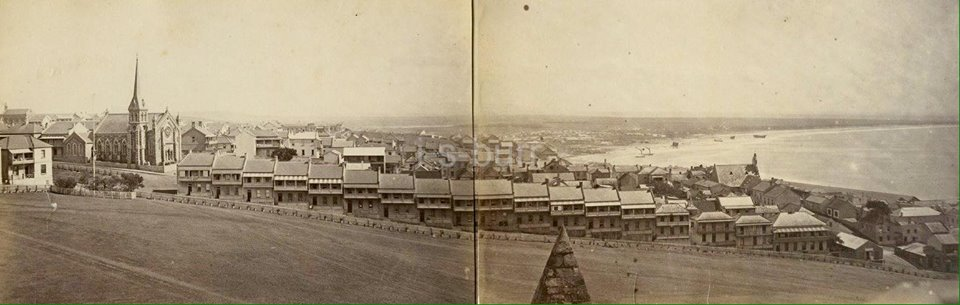 Donkin Row-Panoramic View from Donkin late 1890s