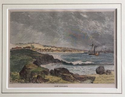Early view of Port Elizabeth