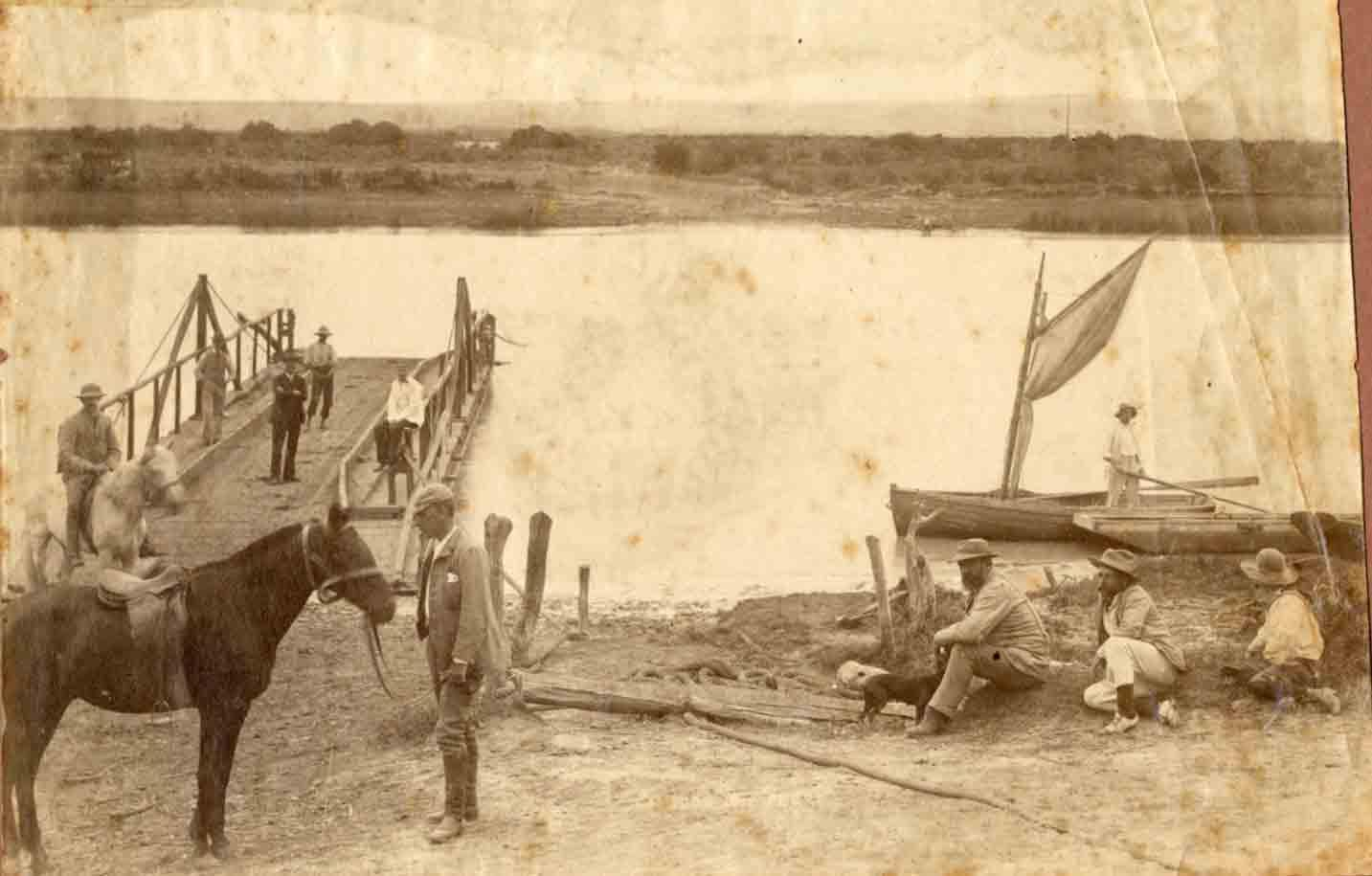 Gamtoos Ferry in 1875
