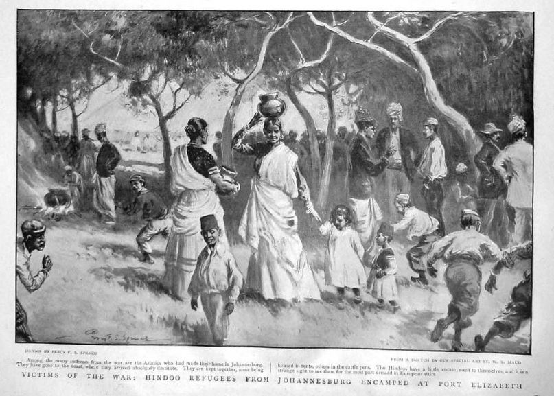 Hindu refugees from Joburg encamped at Port Elizabeth during the Boer War