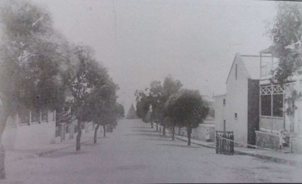 Pearson Street - Looking down the road from Whitlock Street