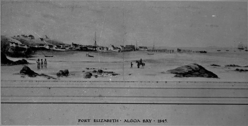 Port Elizabeth in 1845