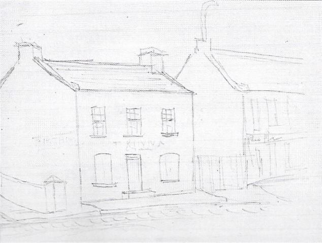 Red Lion Tavern in Evatt Street in 1885 on the right of Thomas Kinna's house used as a general dealer. It was being run by James Maloney at the time