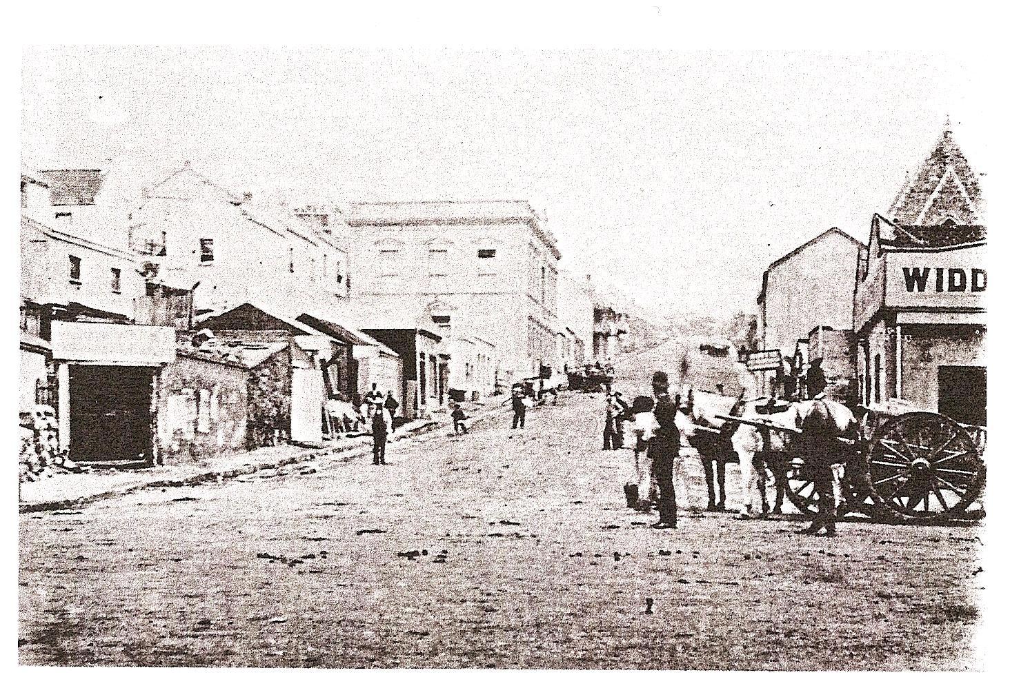 Russel Road Port Elizabeth in 1863