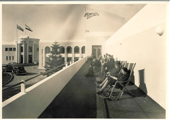 Swartkops Mineral Baths after the developments in 1939