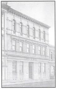 The premises of Holt & Holt in Strand Street in 1897