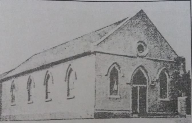 Union Chapel in Chapel Street. Completed in May 1828. Rev Adam Robson in charge from 1832 to August 1870
