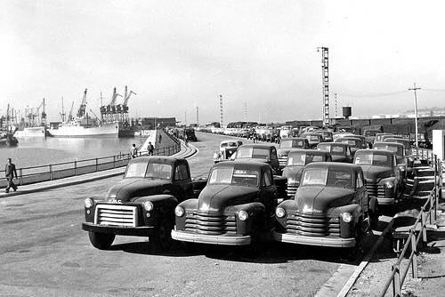 Imported pick-up trucks