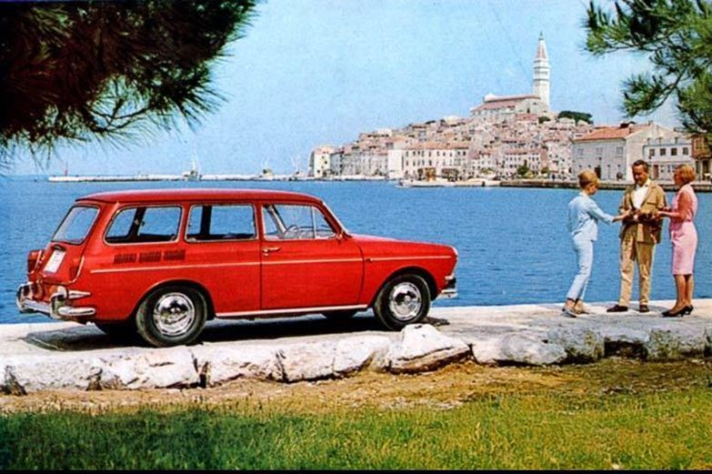 Advert for a VW Variant