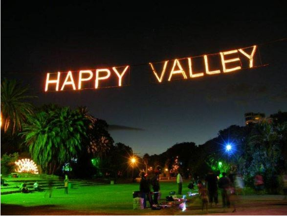 Happy Valley sign