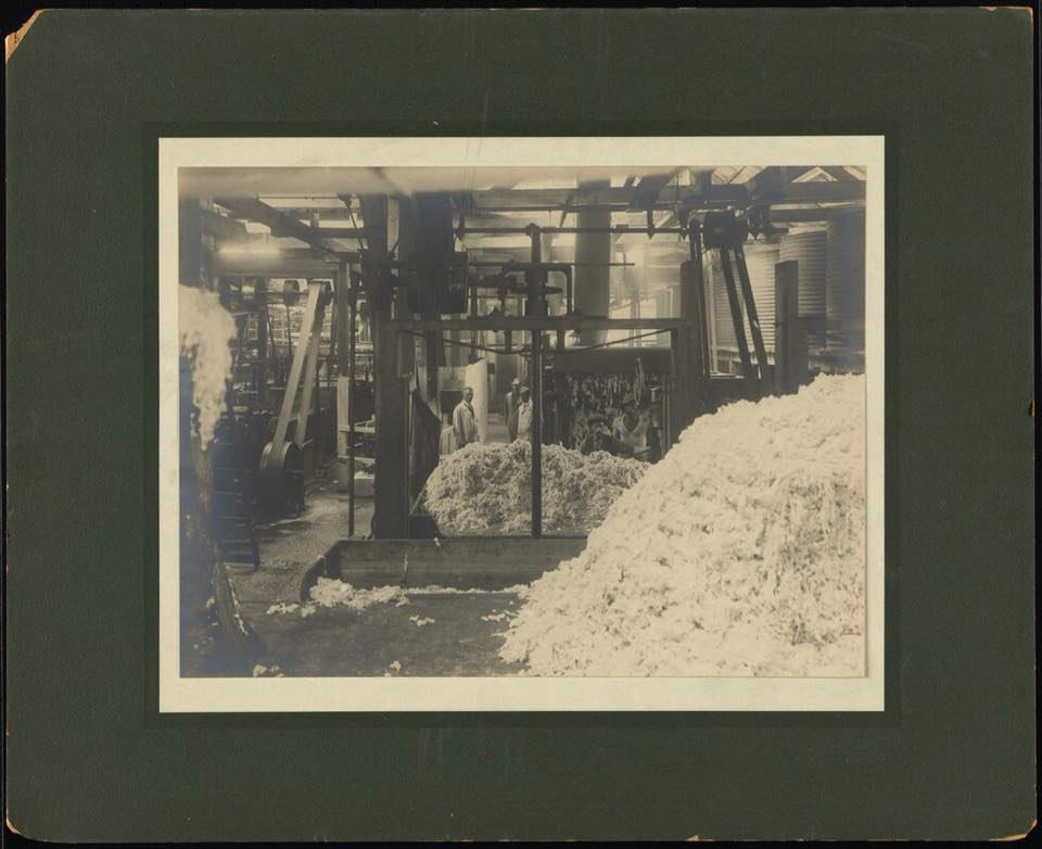 Inside the wool washers