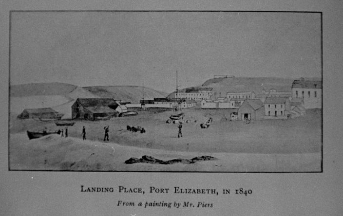 Landing places in 1840