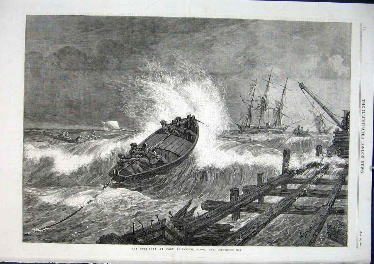 Surf Boats in operation
