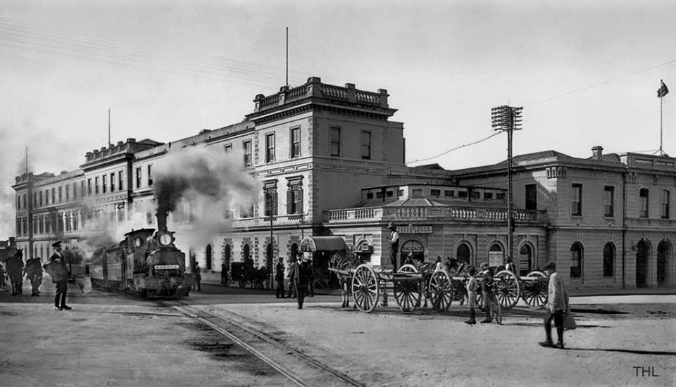 Walmer local departing from the Main Station in 1910