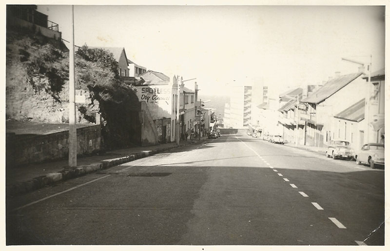 Russell Road in the 1950s