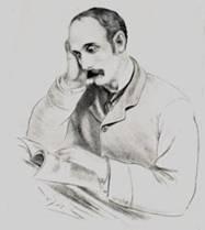 John X Merriman sketched by P Lewsen